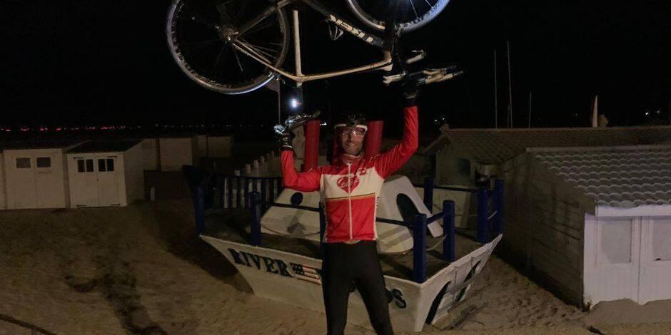 "Arnaud de Meester a réussi son Ultra-triathlon Tenacity : ""Au bout du rêve"""