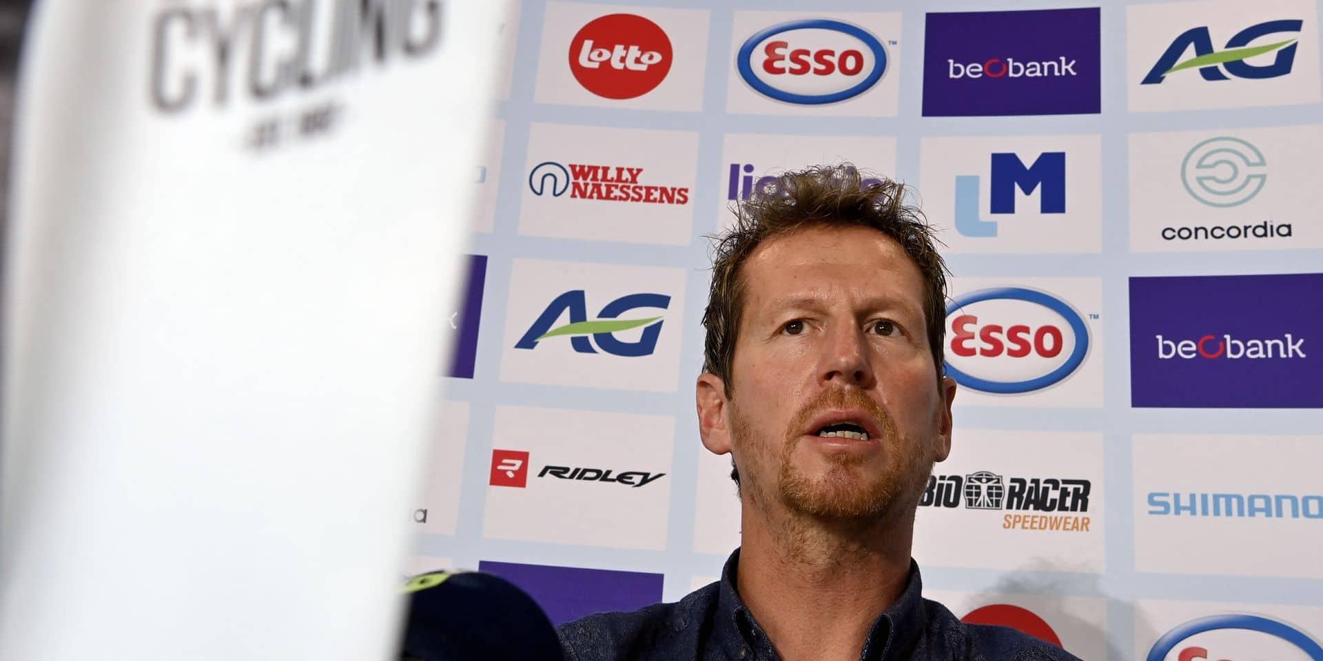 Rik Verbrugghe courtisé par des WorldTeams : va-t-il rester sélectionneur national ?
