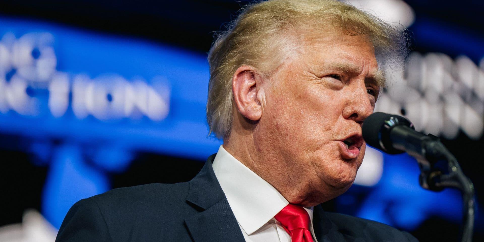 Alors que les USA s'inquiètent du variant Delta, Donald Trump remet en question certaines recommandations