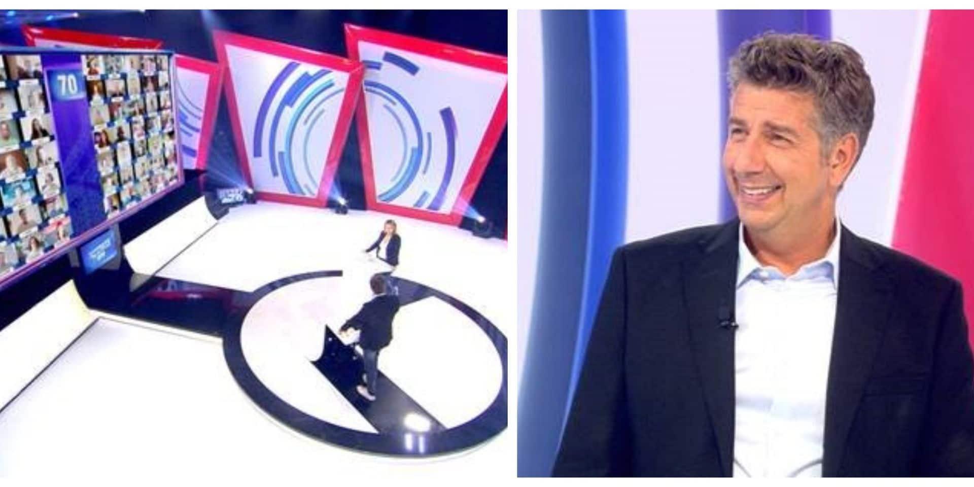 Voici le décor de la nouvelle version du 71, sur RTL-TVI