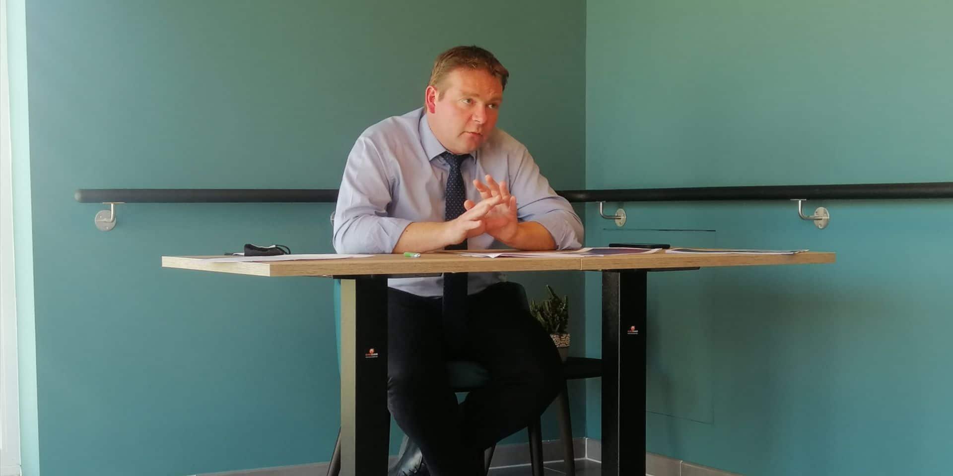 Valéry Gosselain a présenté un budget à l'équilibre pour le CPAS.