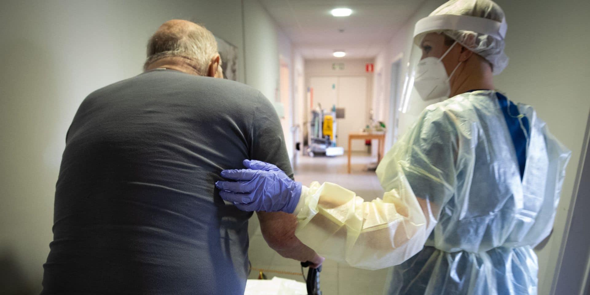 Le Hainaut compte le plus de maisons de repos touchées par le coronavirus en Wallonie