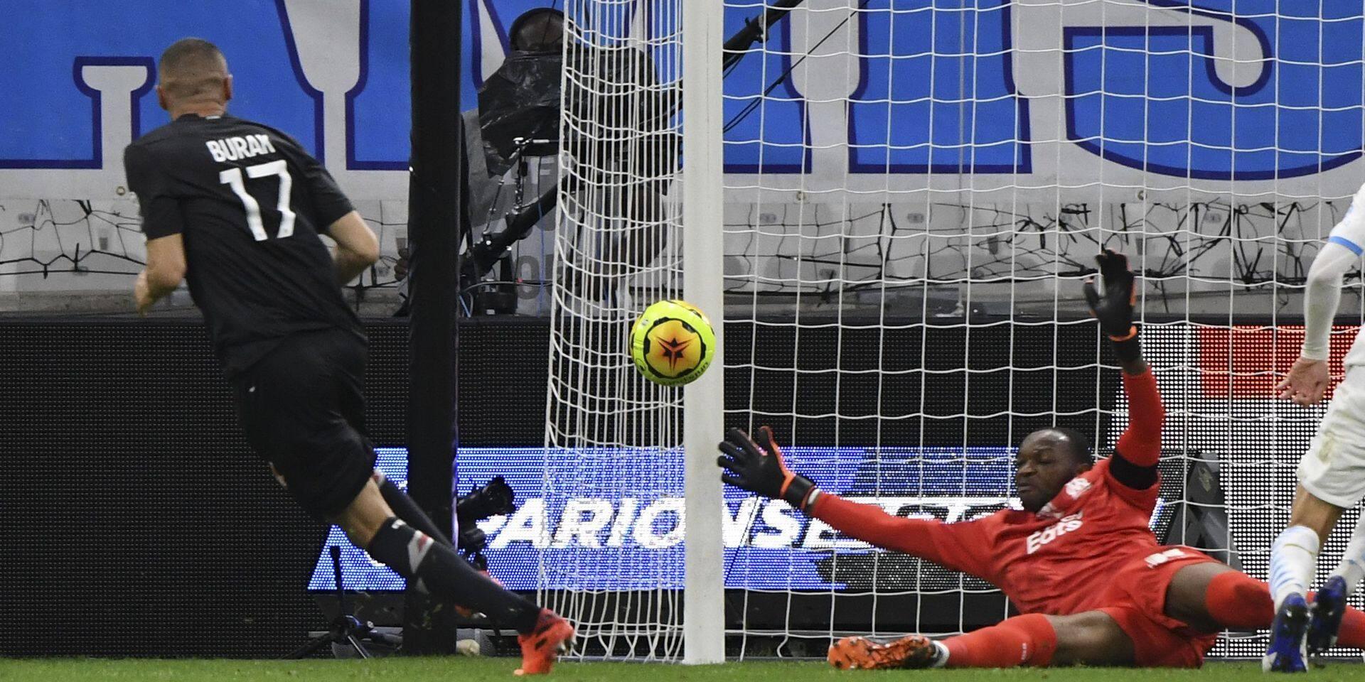 Ligue 1: Marseille sauve un point contre Lille
