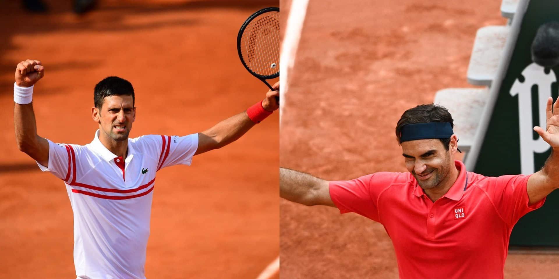 Roland-Garros : Federer et Djokovic se qualifient sans trembler pour le 3e tour