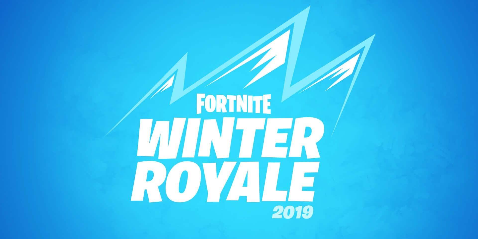 Trois Belges dans le top100 de la Fortnite Winter Royale