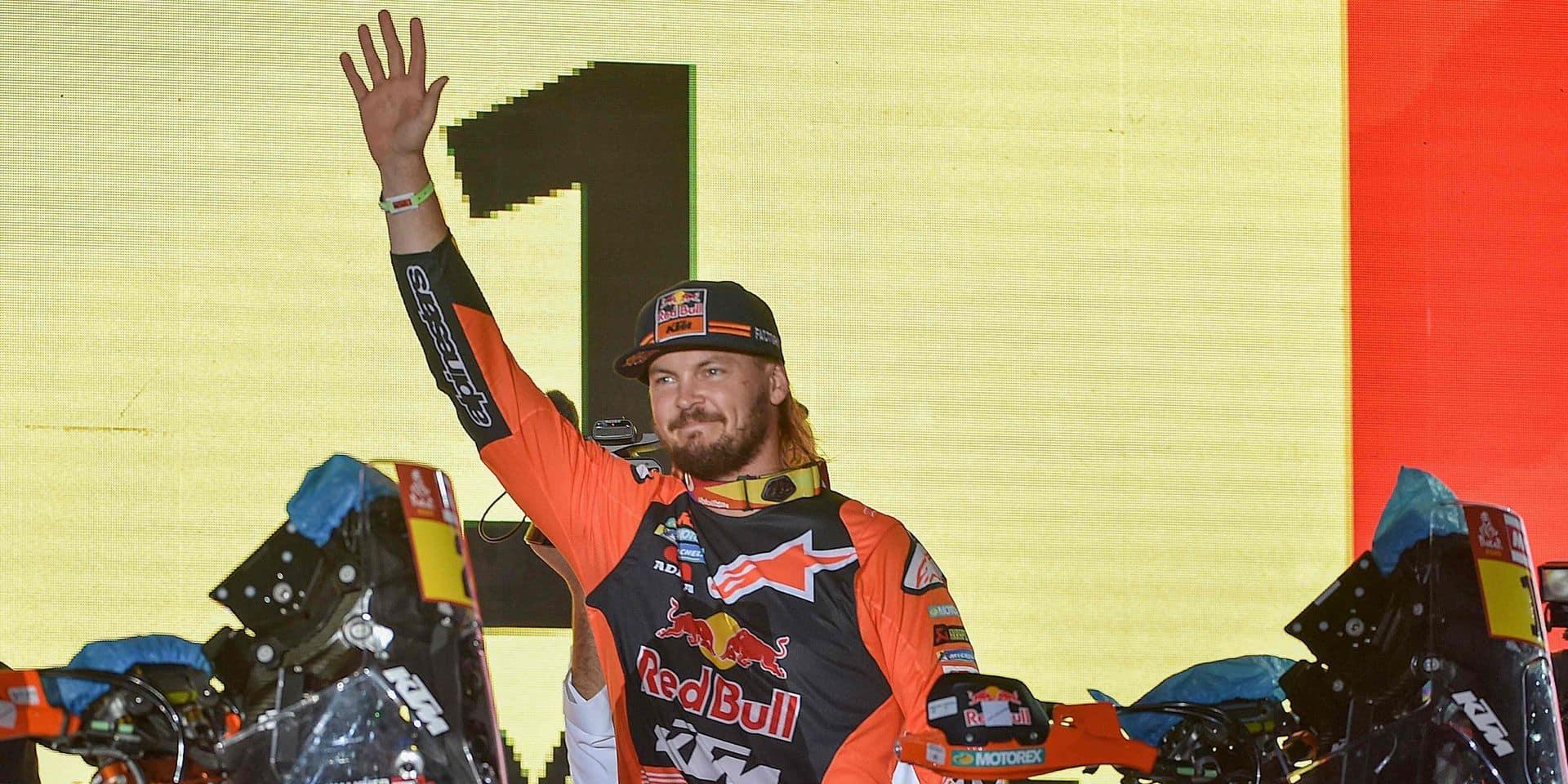 Dakar 2020: La première étape pour le tenant du titre Toby Price en moto