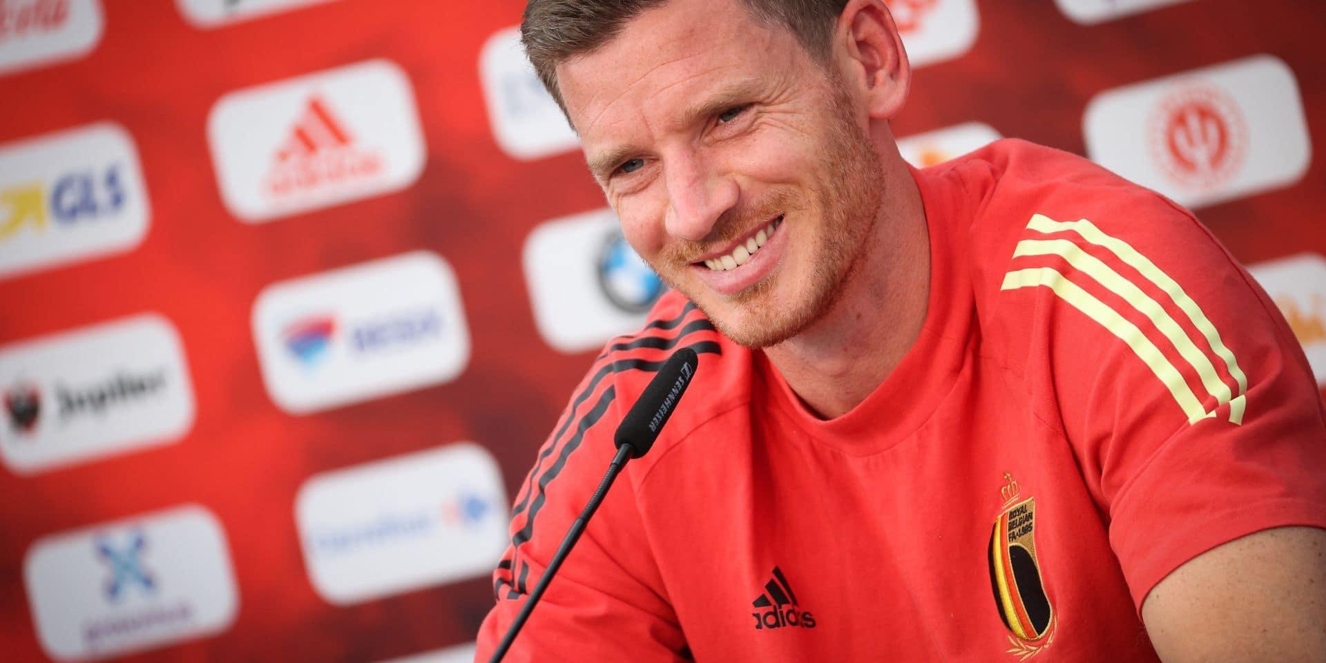 """Jan Vertonghen, le Diable le plus capé: """"Martinez ne devra plus me sélectionner quand je serai en chaise roulante"""""""