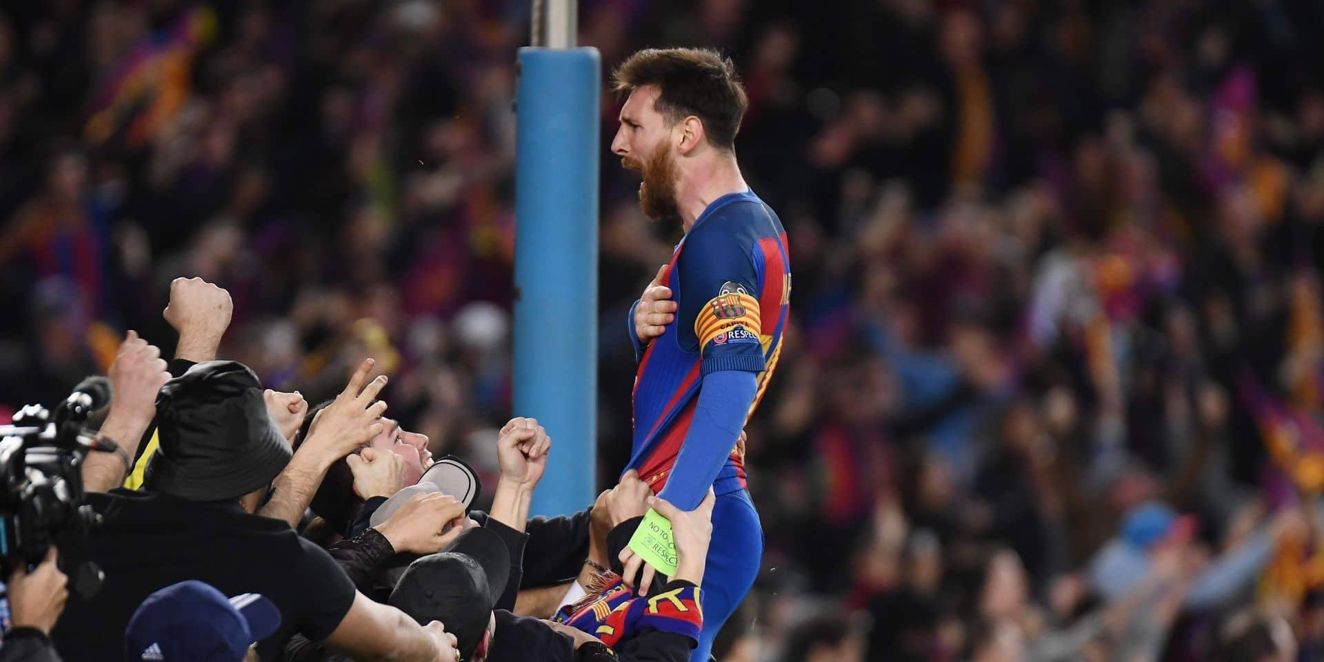 Le père de Messi rencontrera mercredi le président de Barcelone