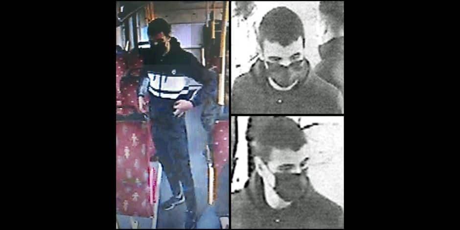 Vol avec violences dans un bus à Farciennes: avez-vous vu cet homme?
