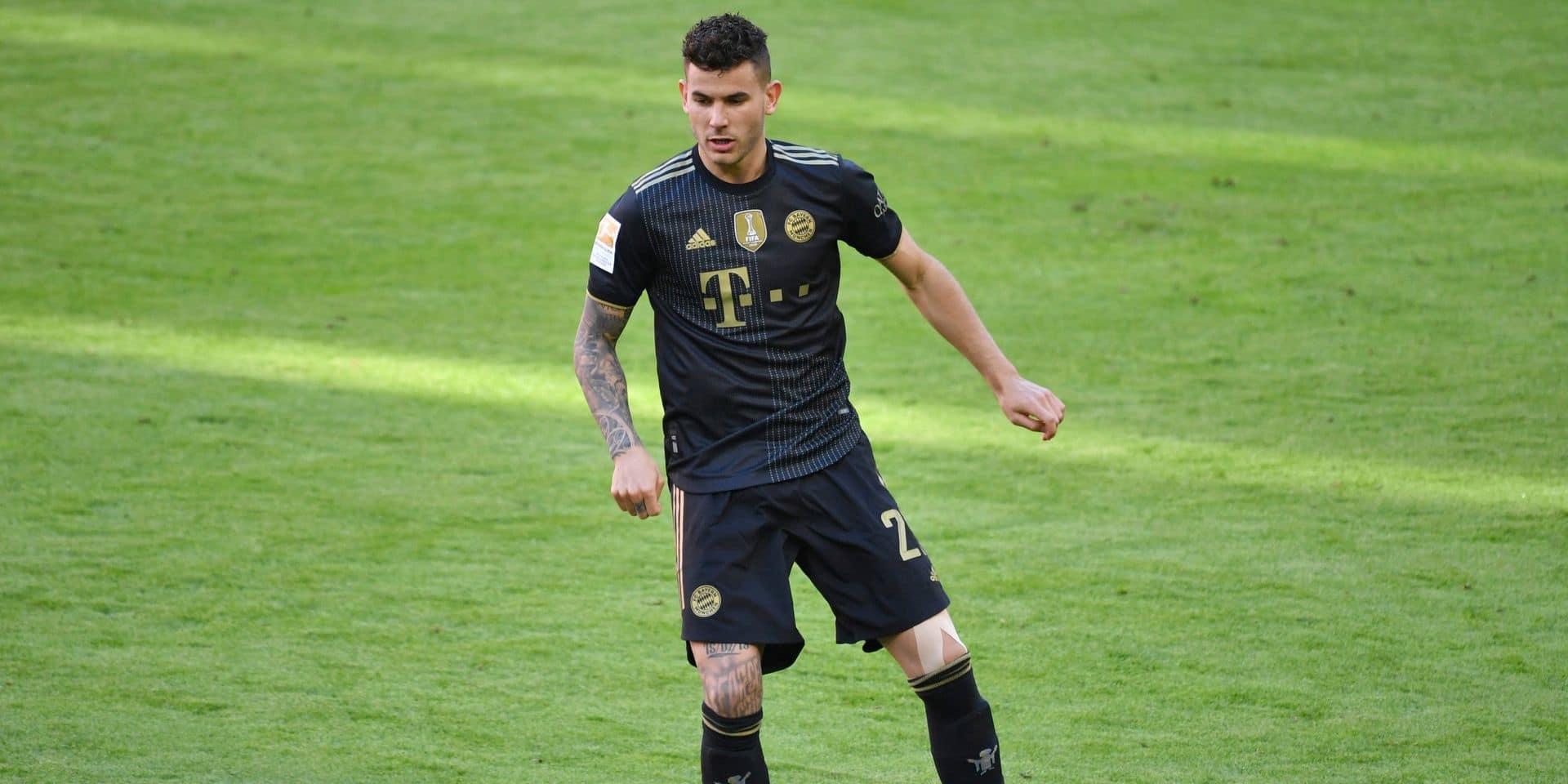 Opéré du genou, Lucas Hernandez sera absent plusieurs semaines du Bayern Munich