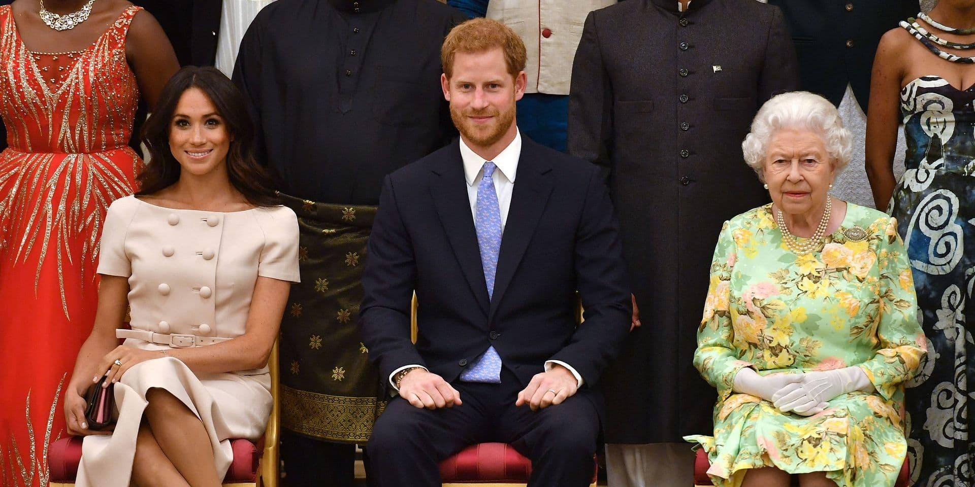 Une demande culottée de Meghan et Harry mettrait Elizabeth II dans l'embarras