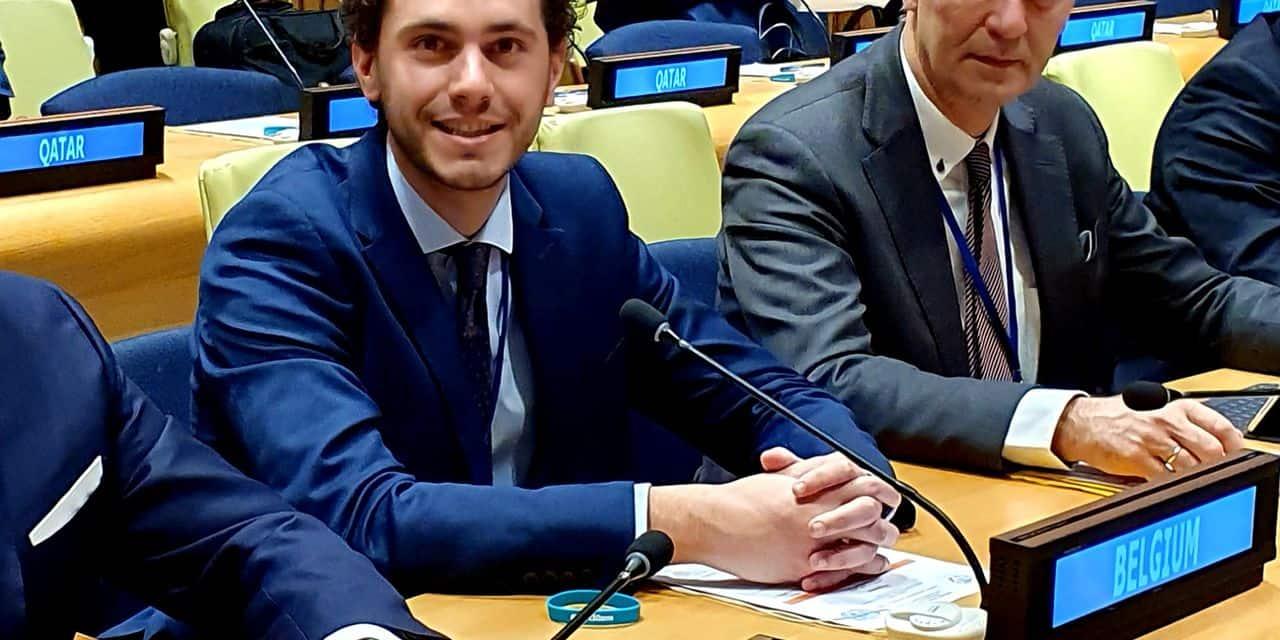 """Huy: Samuel Cogolati nouvel """"ambassadeur"""" belge"""