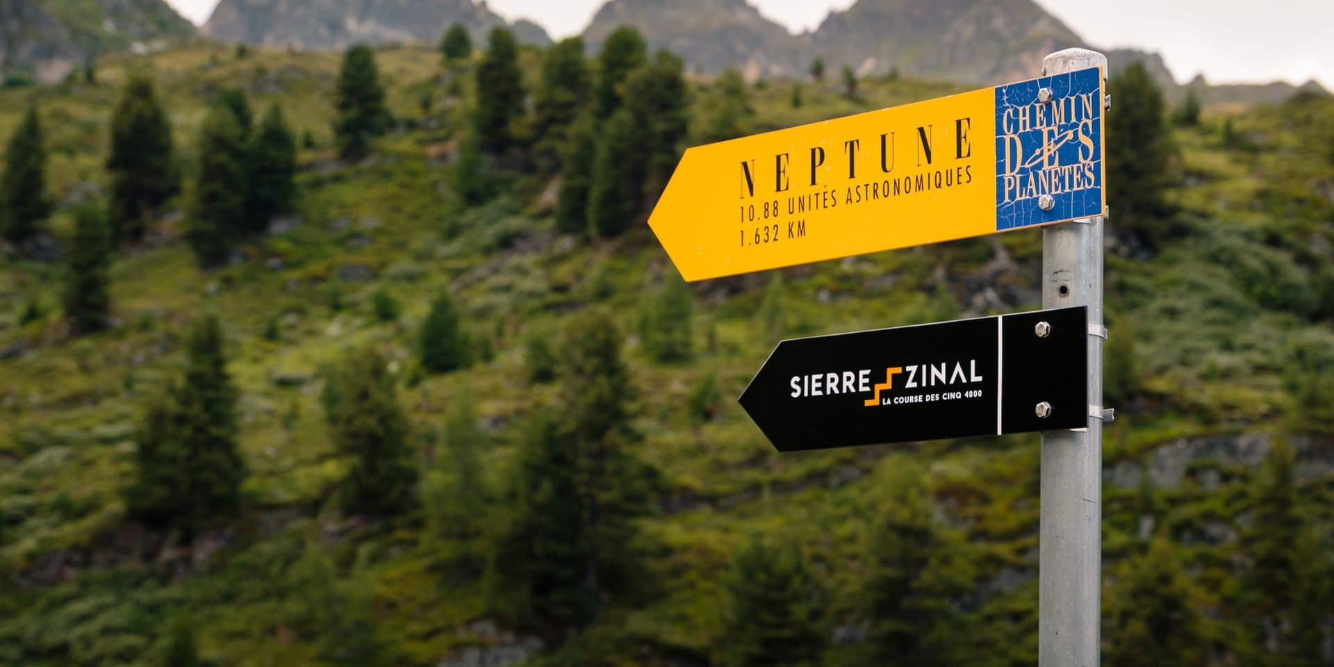 Sierre-Zinal, l'épreuve reine des courses de montagne, étalé sur un mois
