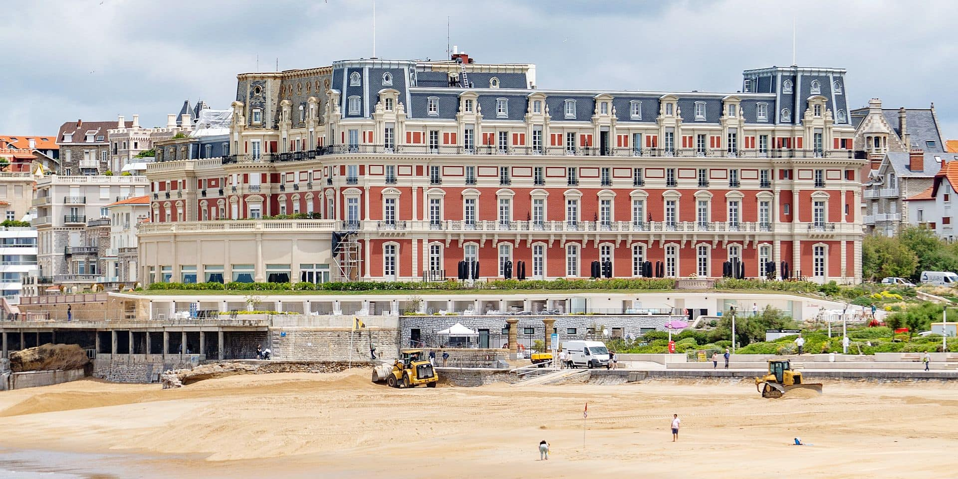Hotel du Palais in Biarritz - G7 summit in France