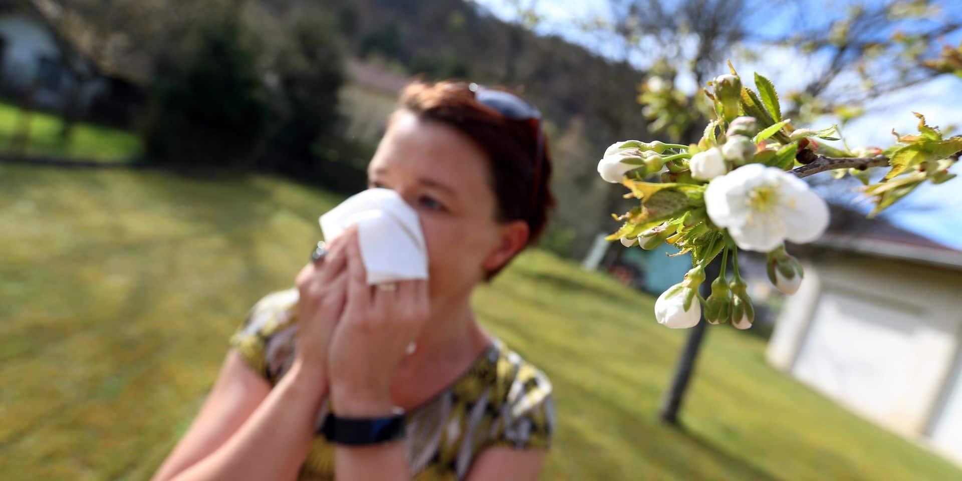 Montbéliard illustration allergie pollen