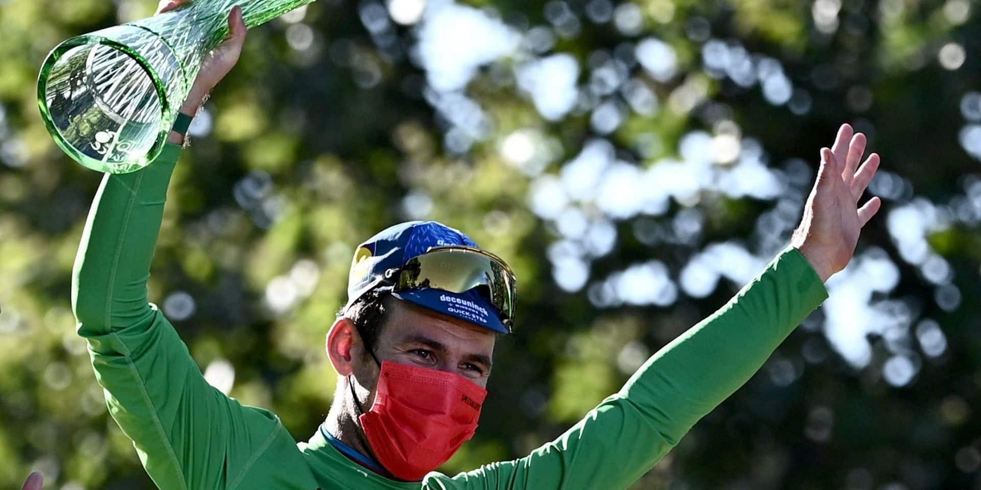 "Mark Cavendish vainqueur du maillot vert : ""L'impression de rajeunir"""