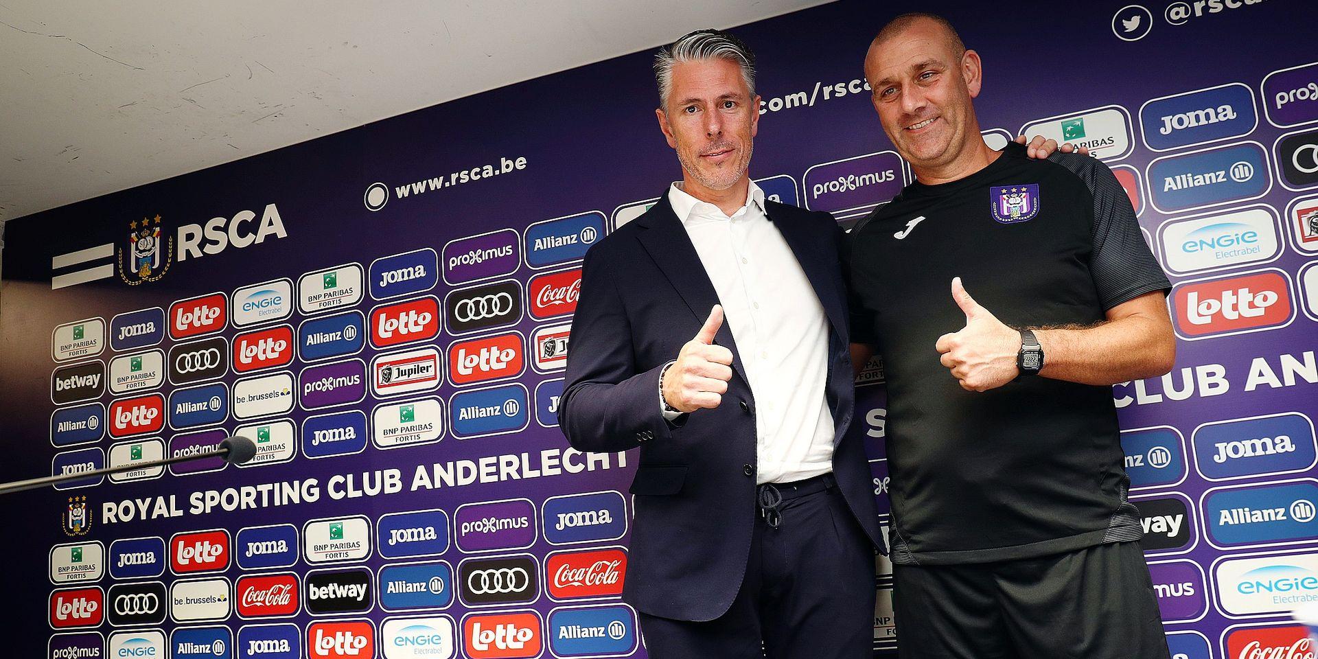 """Michael Verschueren, directeur sportif d'Anderlecht, prévient : """"Cela va bouger dans les deux semaines"""""""