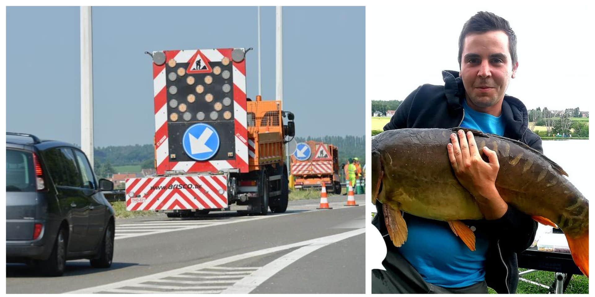 Loïc (27 ans), de Braine-l'Alleud, est l'ouvrier décédé sur l'E42 à Rhisnes