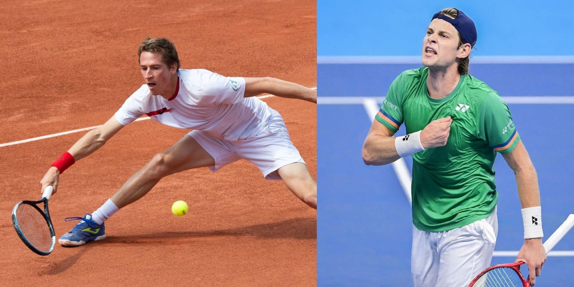Qualifiés, Kimmer Coppejans et Zizou Bergs vont se rencontrer en quarts de finale à Almaty