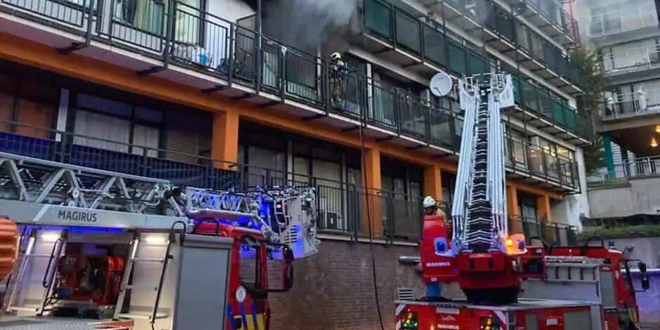 Incendie à Anderlecht, les jeunes remerciés par les pompiers et le foyer Anderlechtois
