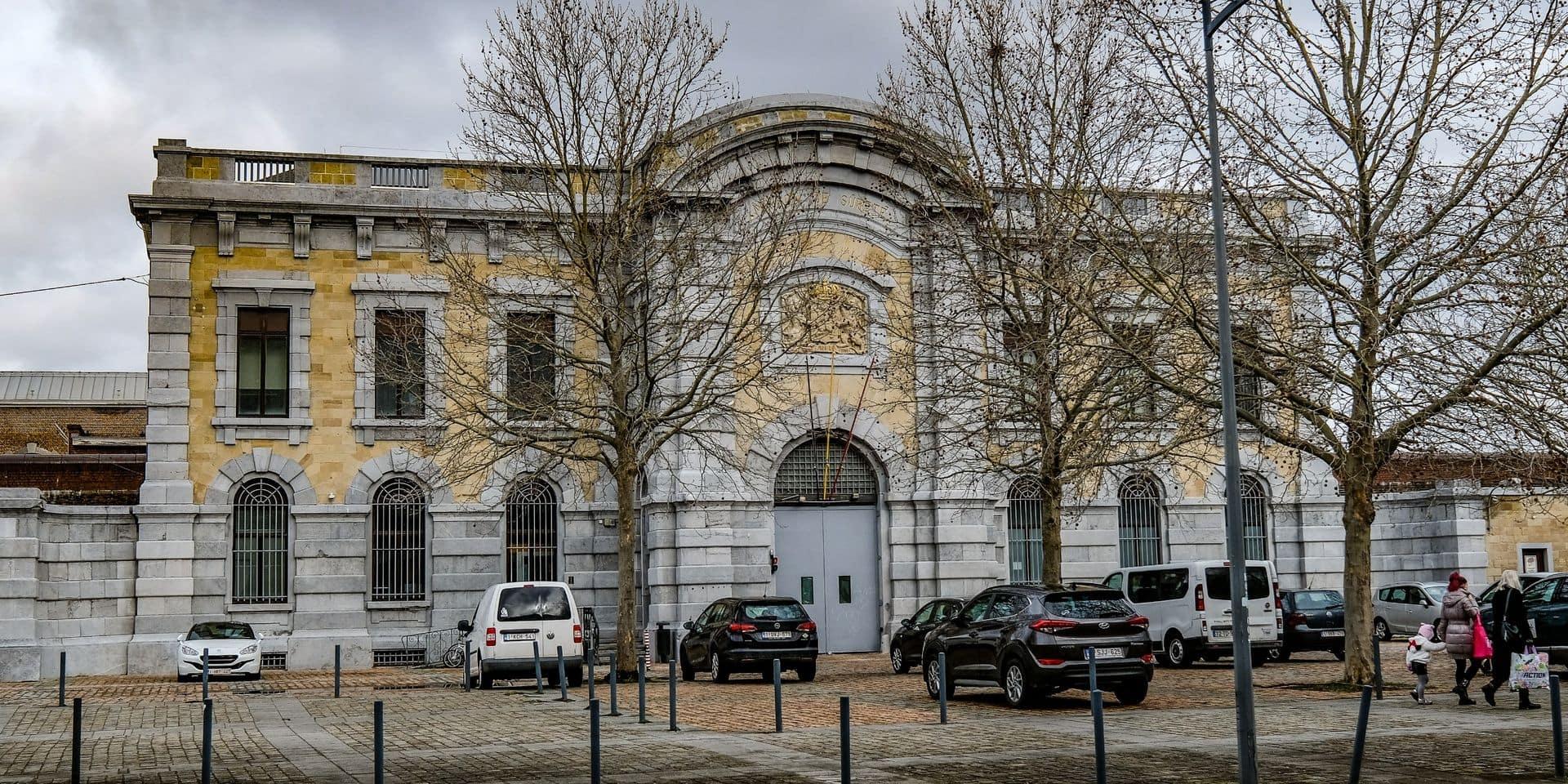 Quelques détenus ont fait un peu de grabuge à la prison de Namur