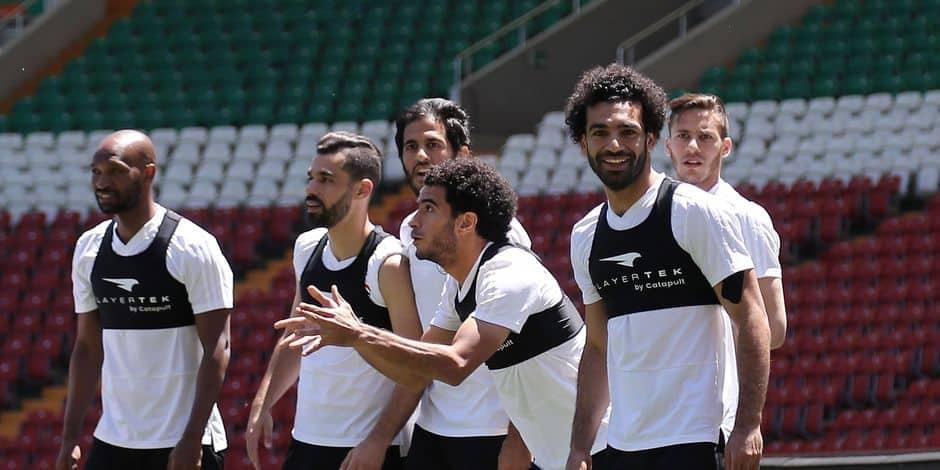 Va-t-il jouer contre l'Uruguay — Mohamed Salah