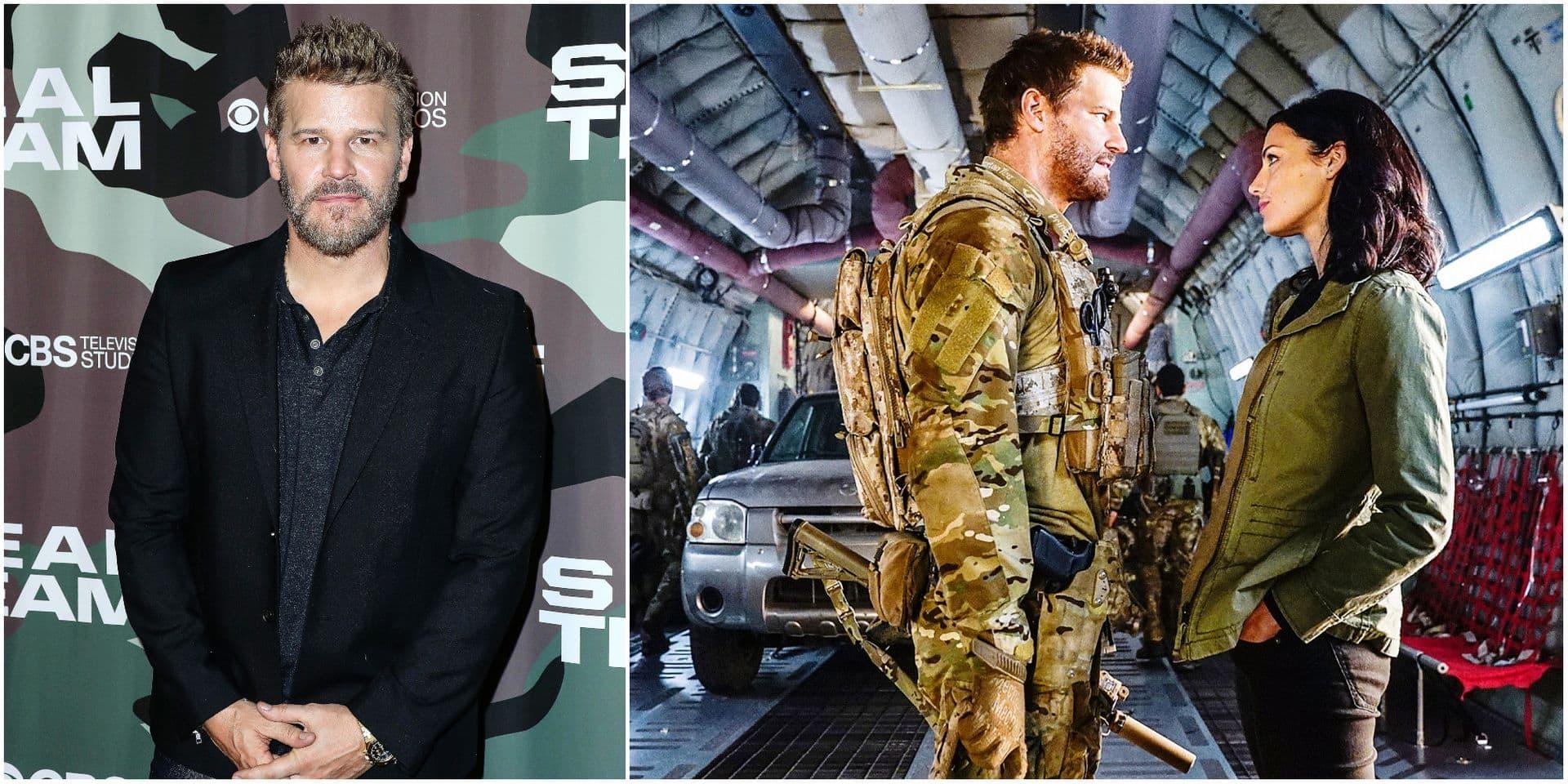 """David Boréanaz, alias Jason Hayes dans la série Steal se livre: """"Je voue une profonde admiration pour l'armée, ces hommes et ces femmes prêts à tout"""""""