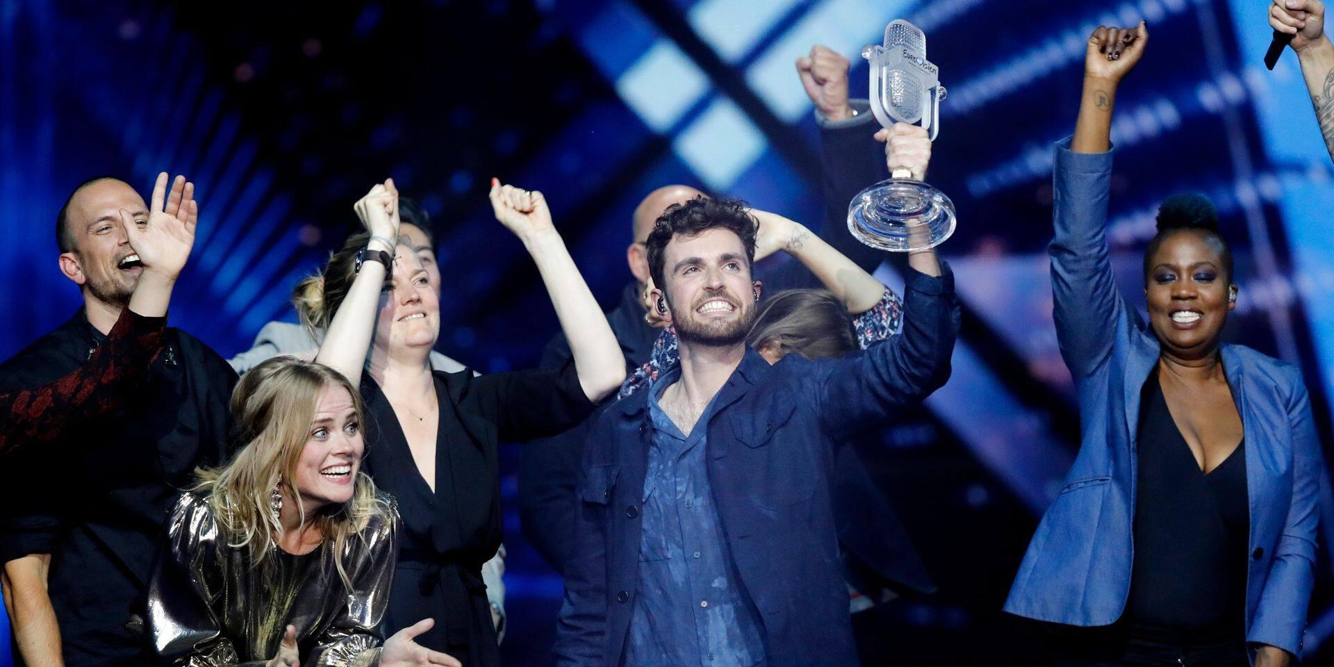 Duncan Laurence, le chanteur néerlandais, grand gagnant de l'Eurovision 2019.