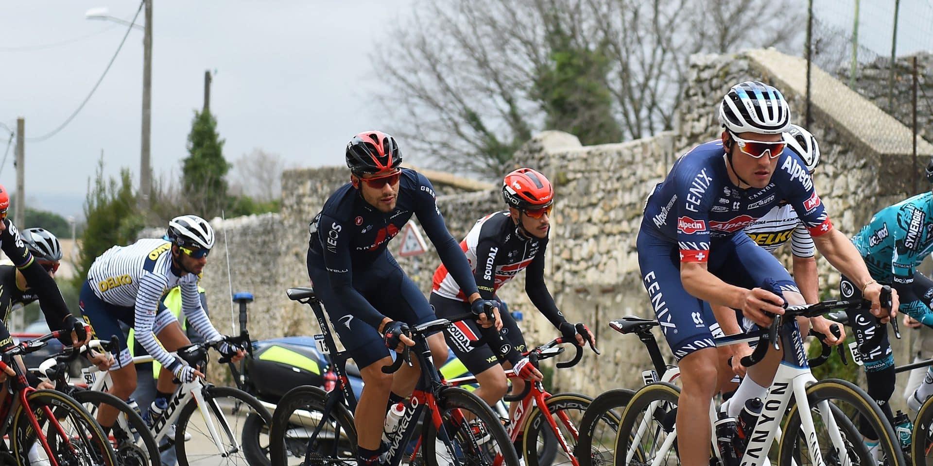 Etoile de Bessèges: Ganna s'impose en solitaire lors de la 4e étape, Van Avermaet au pied du podium, Wellens toujours premier