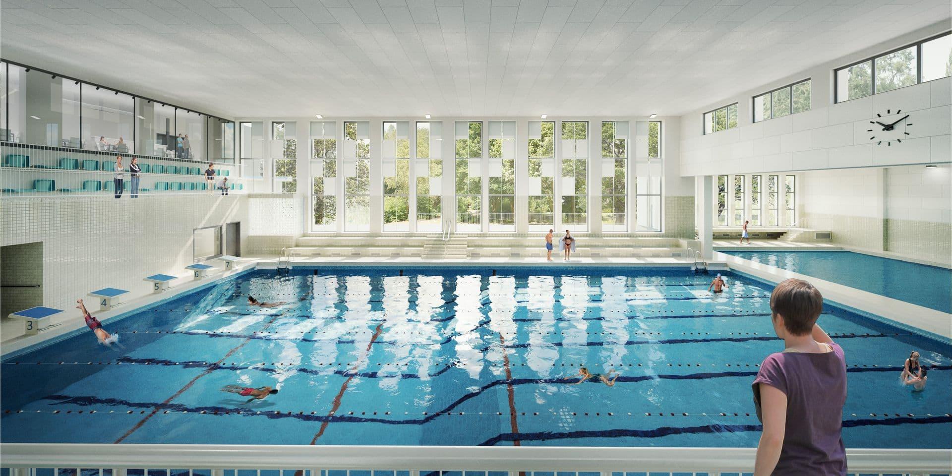 Rénovation en profondeur de la piscine de Verviers