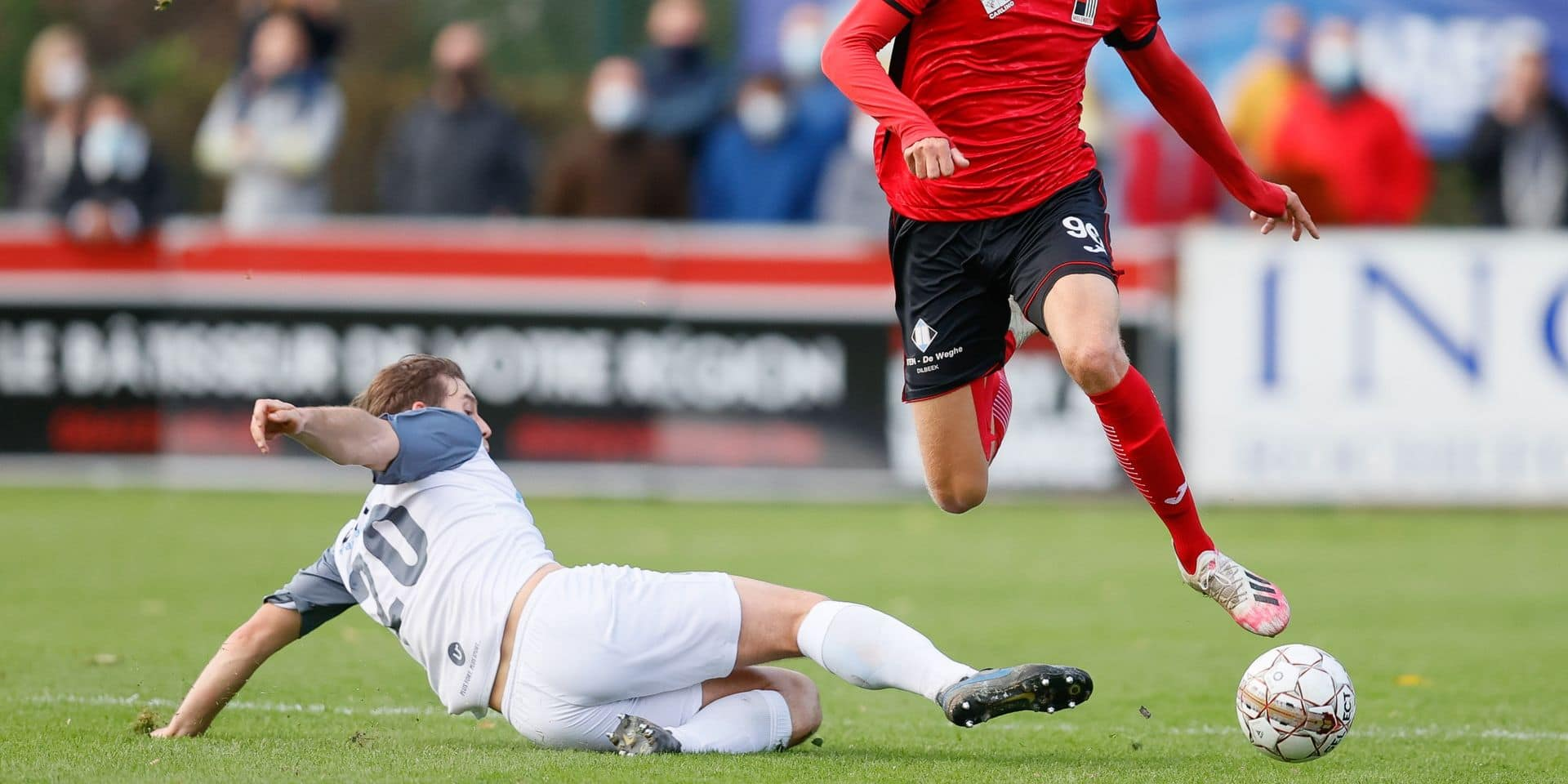 """Thibault Monmart, après la lourde défaite de Rochefort face au RWDM: """"Le score ne reflète pas notre travail"""""""