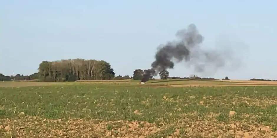 Crash aérien à Ohain: une erreur de pilotage à l'origine de l'accident