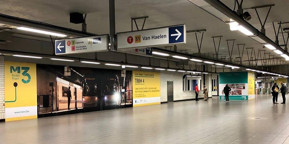 La station Albert, à Forest, devient multimodale