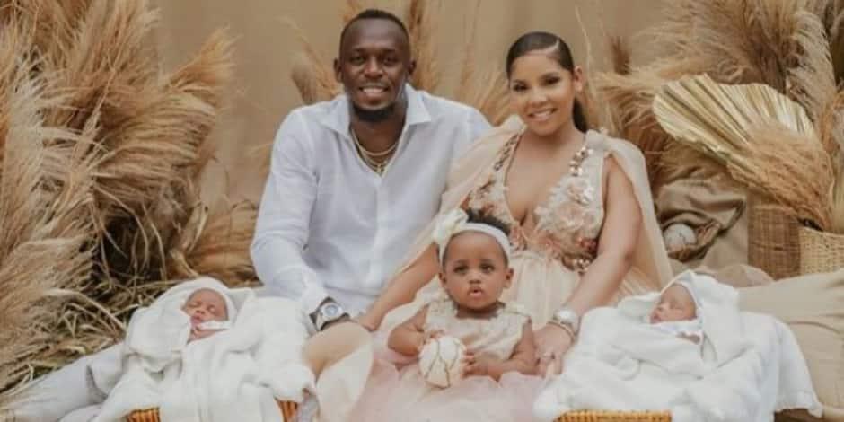 Usain Bolt est désormais papa de jumeaux !