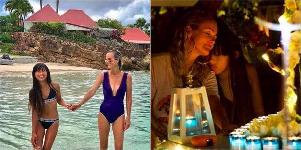 Laeticia Hallyday : derniers jours en vacances, entre rires et recueillement - La DH