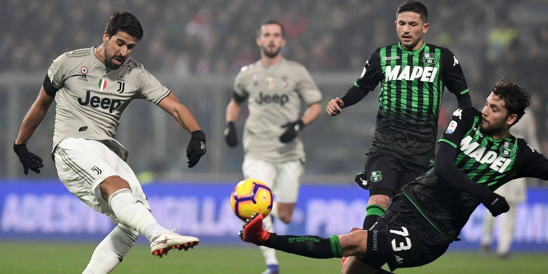 Juventus: Khedira absent un mois en raison d'une arythmie cardiaque