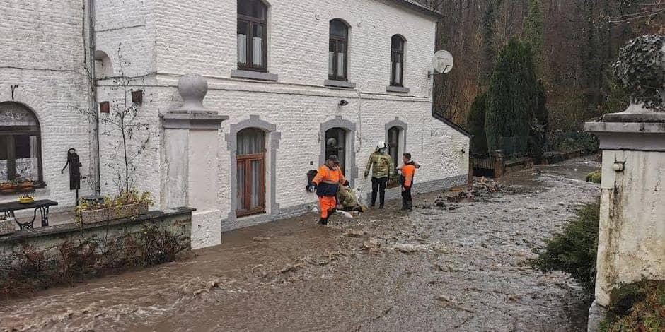 Situation sur haute tension dans les communes de Gerpinnes et d'Ham-sur-Heure/Nalinnes