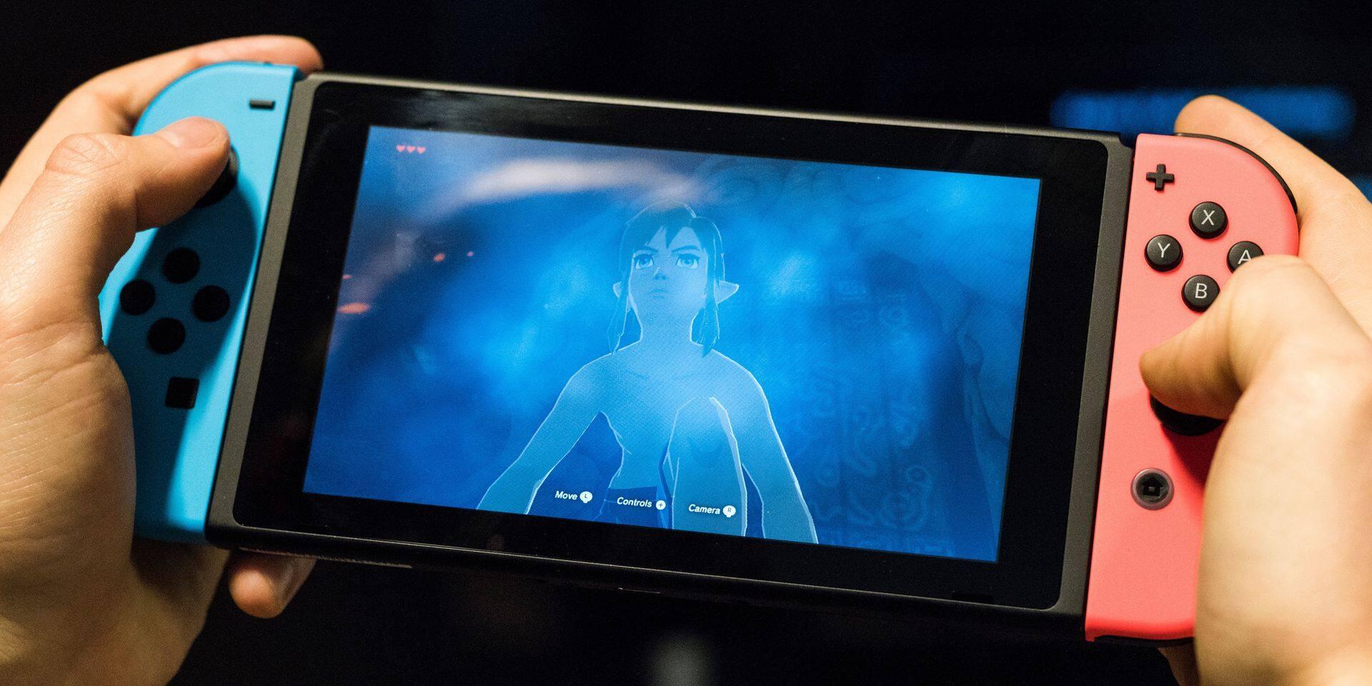 Une nouvelle Nintendo Switch attendue