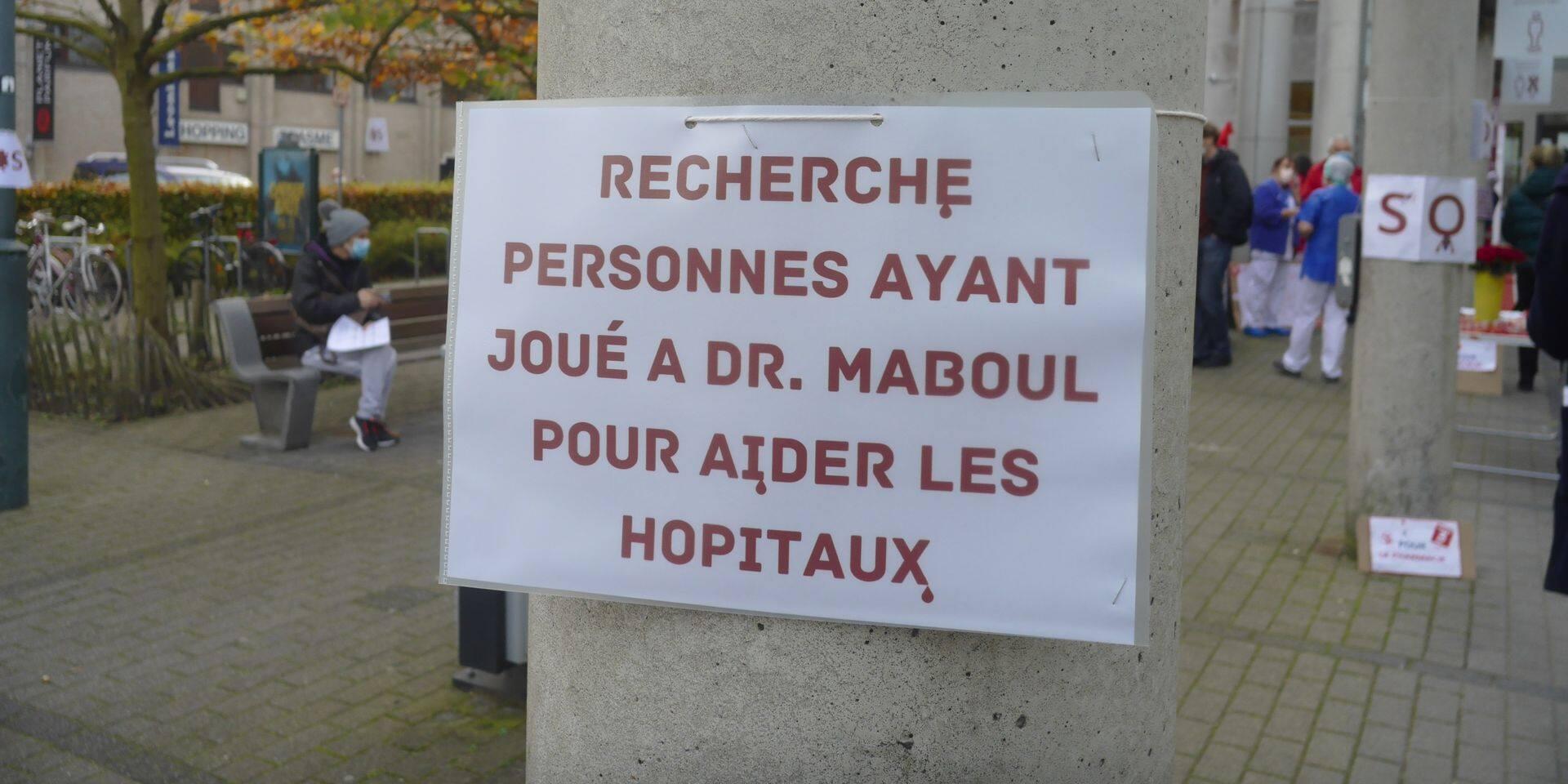 À bout de nerf, le personnel hospitalier manifestera à Mons ce jeudi
