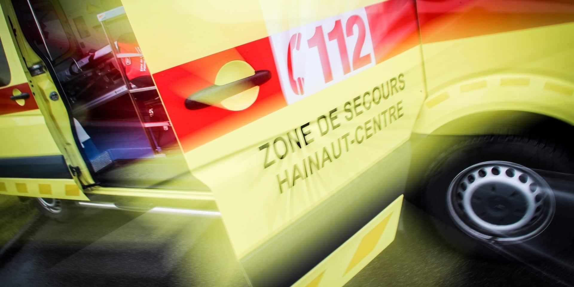 La Louvière: une jeune fille fauchée par une voiture dans le centre-ville