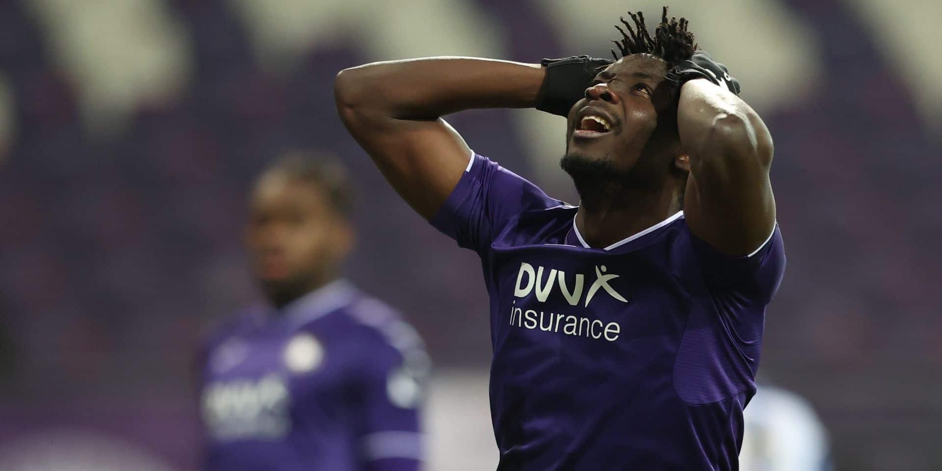 Anderlecht bat son record de passes et de tirs cadrés