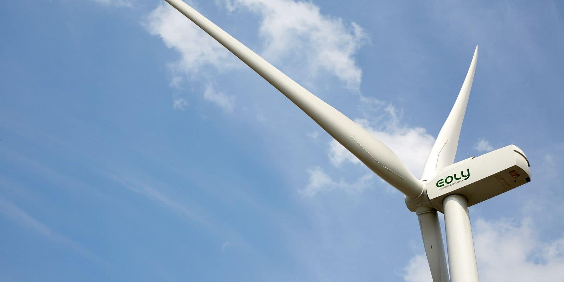 Ronquières: les détails du projet de 7 éoliennes ont été dévoilés