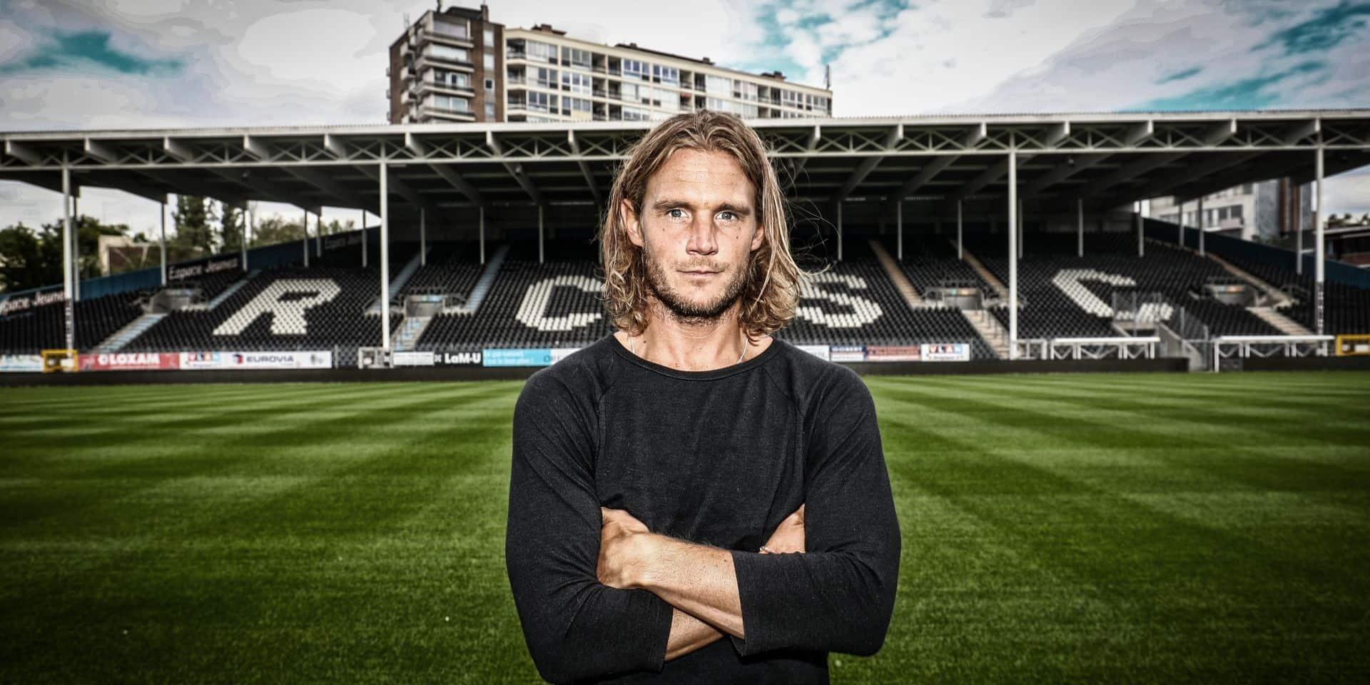 """Guillaume Gillet est ravi d'avoir opté pour Charleroi: """"Retrouver l'Europe est presque inespéré"""""""