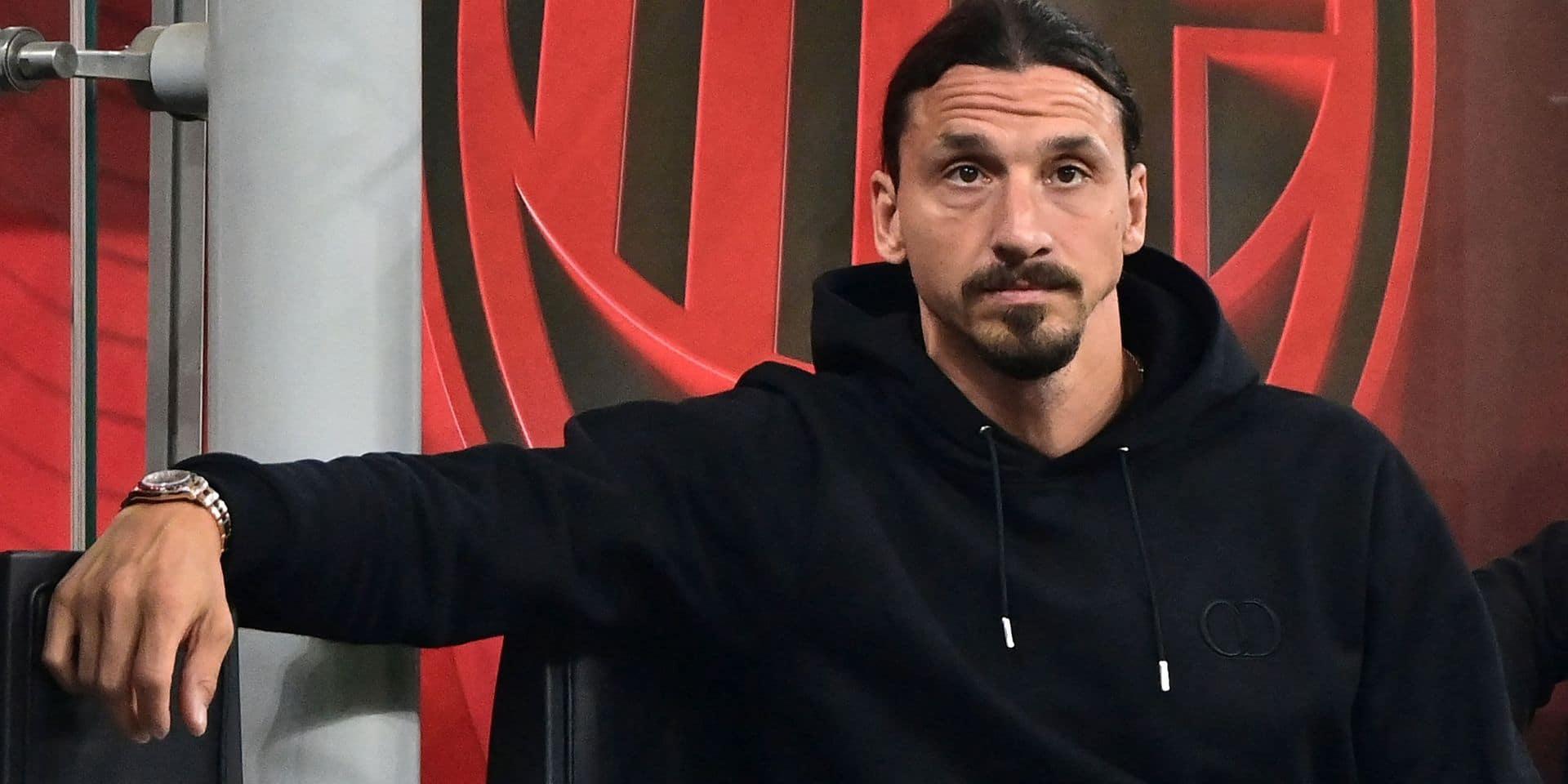 Une mauvaise nouvelle pour Zlatan, la veille de ses 40 ans