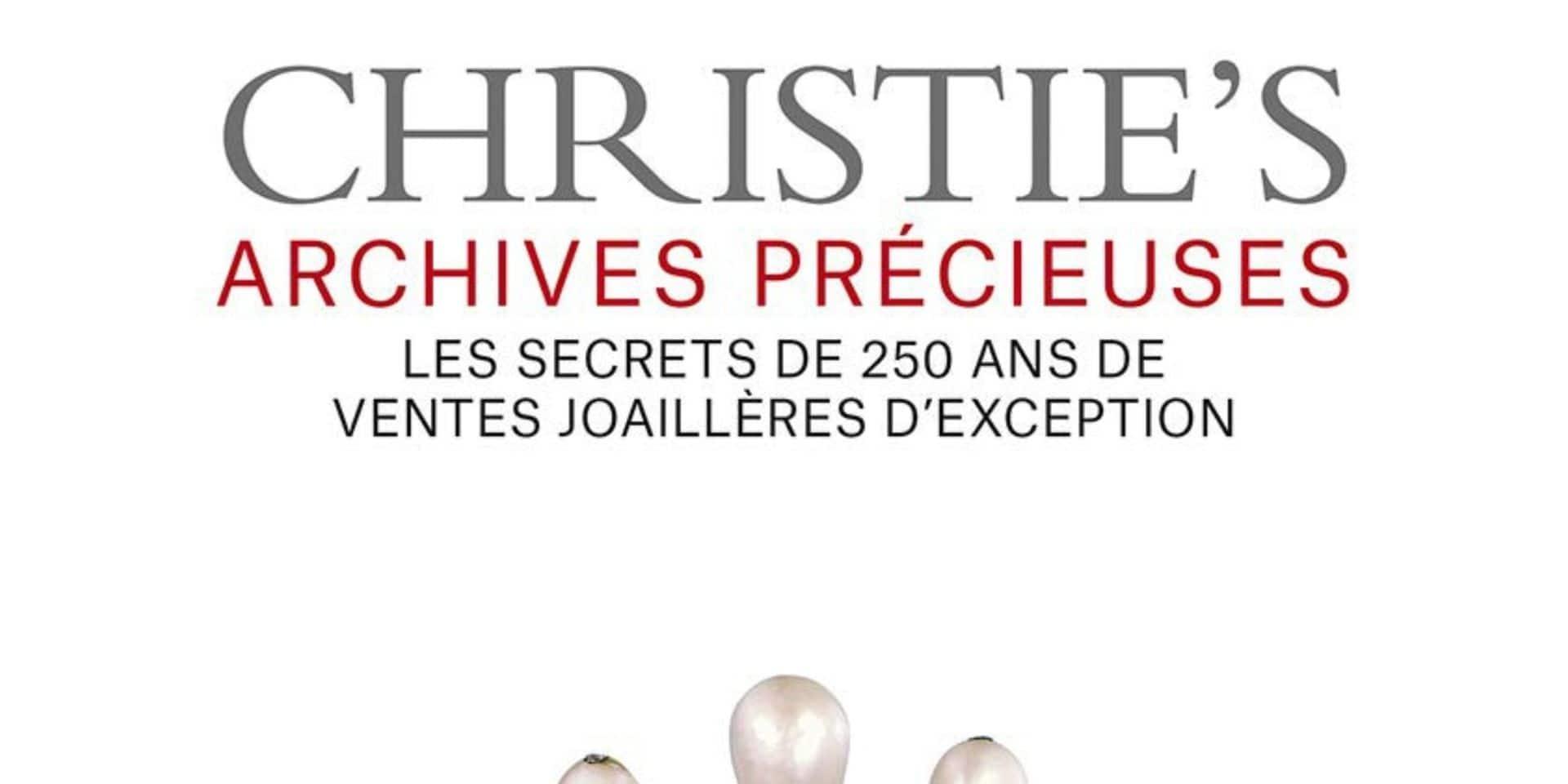 Les archives de Christie's dévoilée