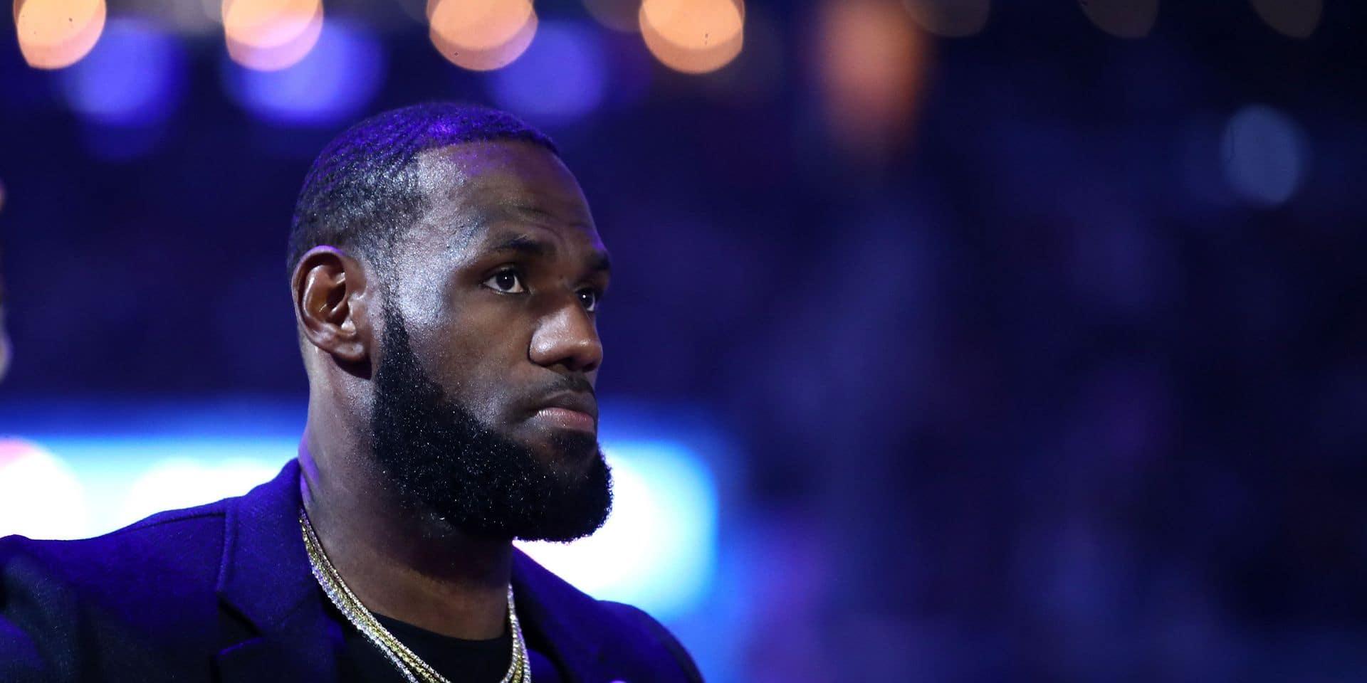 LeBron James réfute l'idée d'une annulation de la saison NBA
