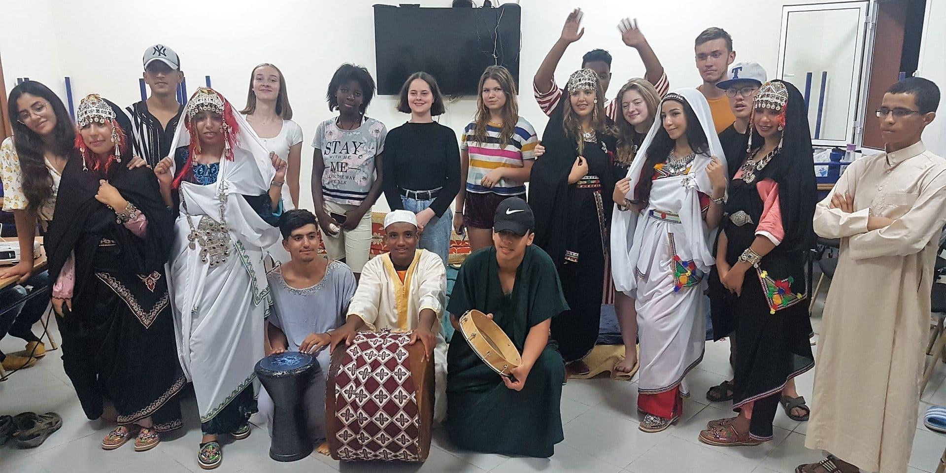 Comines : Une expérience interculturelle au Maroc