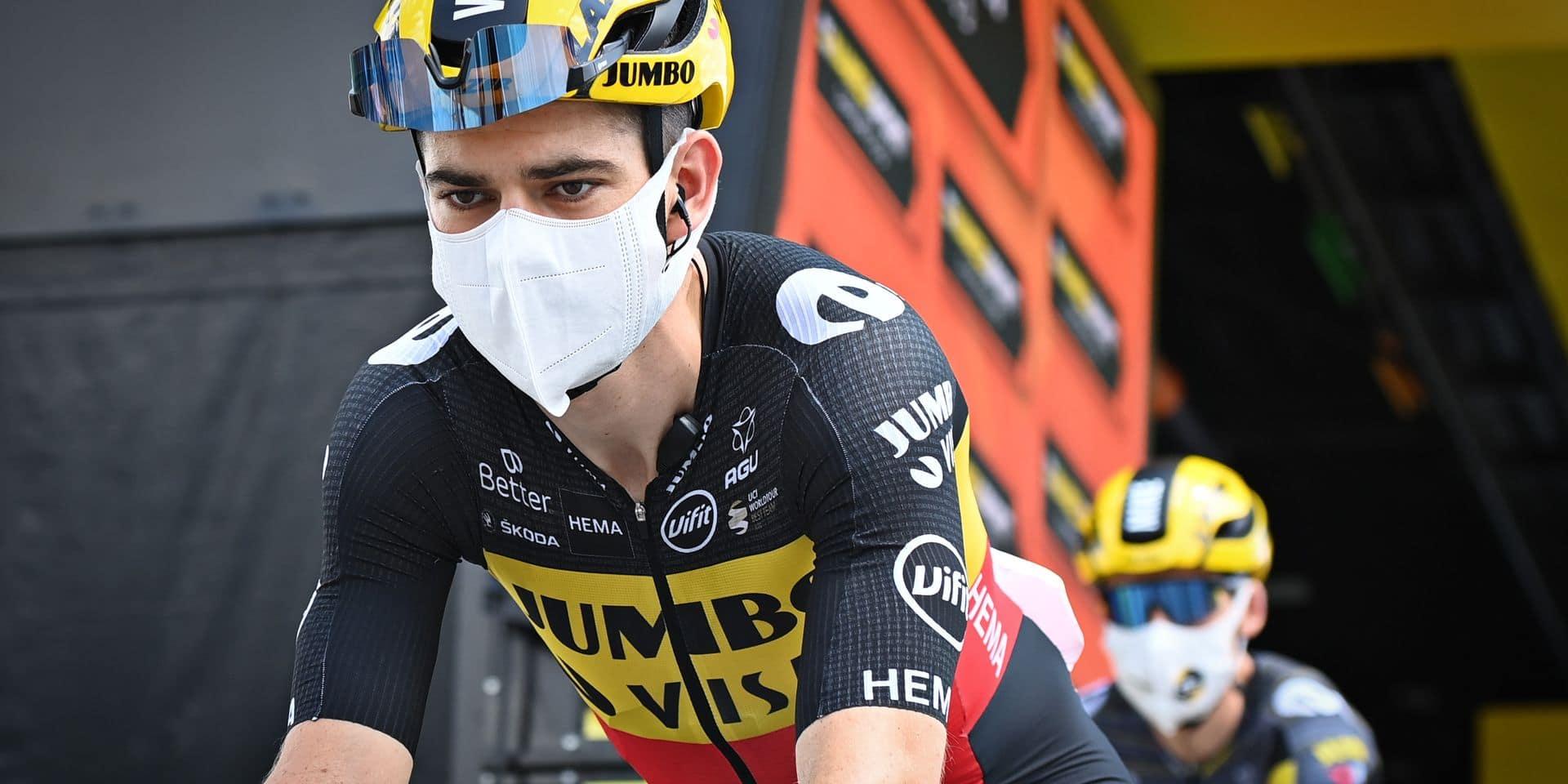"""Van Aert va retenter sa chance : """"Des étapes plus dures sont à mon avantage"""""""