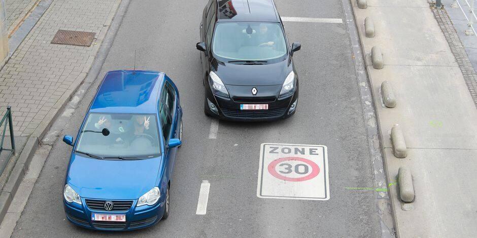 Près de 30% des Carolos en excès de vitesse aux abords des écoles