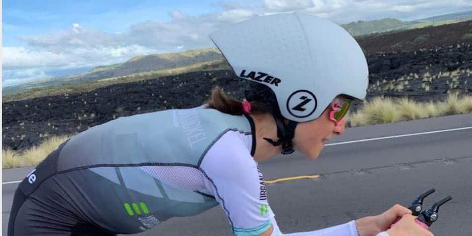 Un premier Ironman d'Hawaï pour la Bruxelloise Mathilde Hanuise